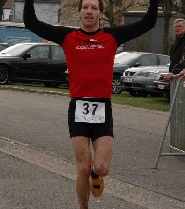 Jim Thijs wint winterduathlon Heusden-Zolder