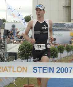 Wedstrijd verslag 3/4 triathlon Stein (Pieter Hélin)