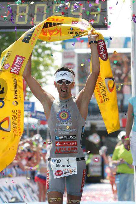 De Bink uit Brugge wint Ironman Klagenfurt