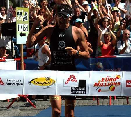 Bink wint Ironman Antwerp 70.3