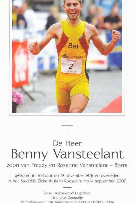 Begrafenis Benny Vansteelant