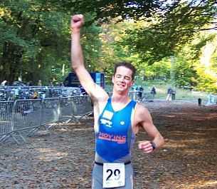 Kris Koddens wint Lembeekse Bosduathlon