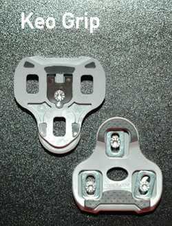 Nieuwe plaatjes voor de Keo pedalen