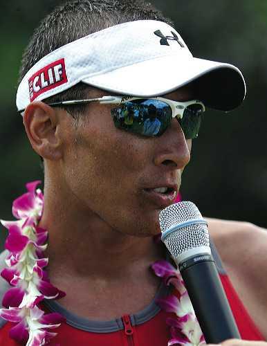 Chris McCormack wint Ironman Hawaii