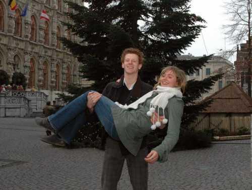 Jolien en Stijn verkozen tot Miss en Mister 3athlon.be 2007
