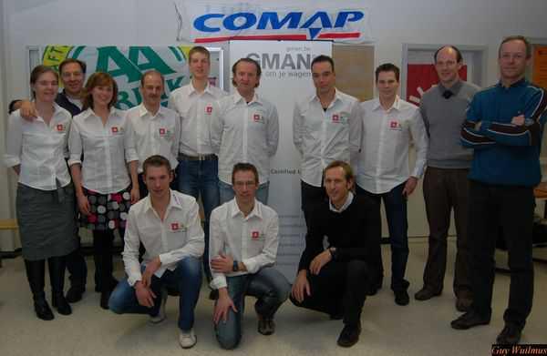 Topatleten en sponsors ondertekenden hun contracten met ATRIAC