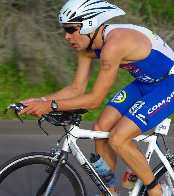 Bert Jammaer 6de in IM 70.3 California
