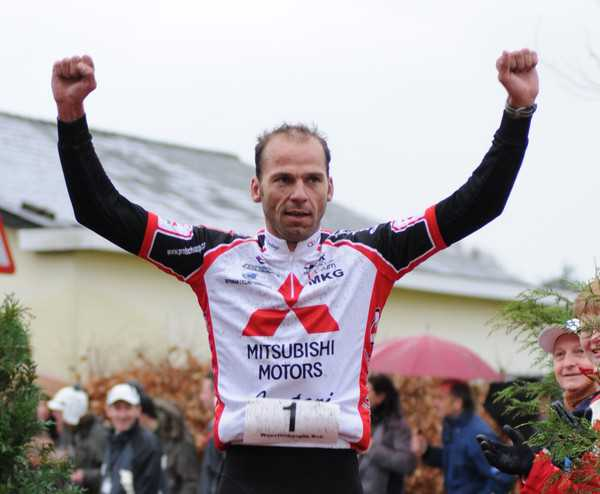 Rob Woestenborghs BeNeLux kampioen winterduathlon