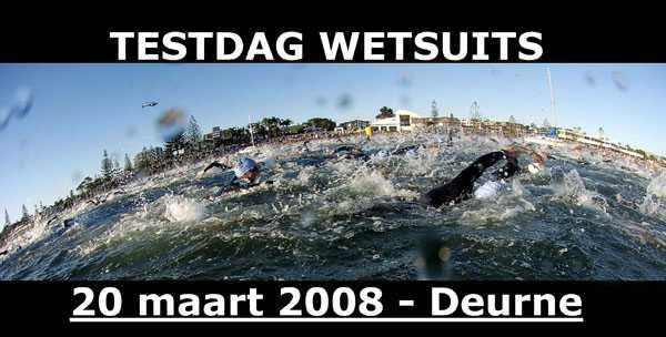 Testdag wetsuits in Deurne (20/03/08)