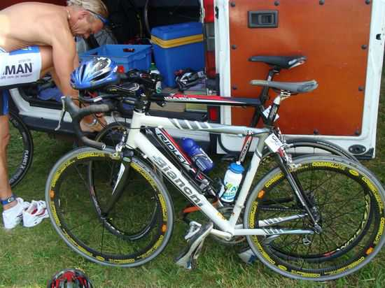 Bianchi-fiets van Kurt Jurgens gestolen