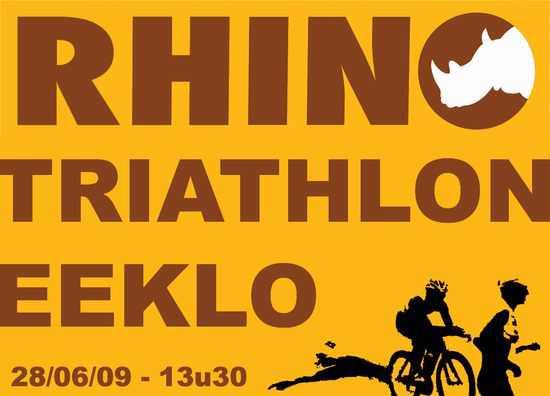 2e Rhino-triathlon bijna volzet