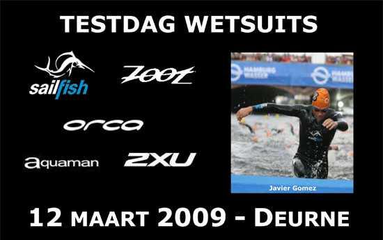 Pasdag wetsuits Deurne (12/03/2009)