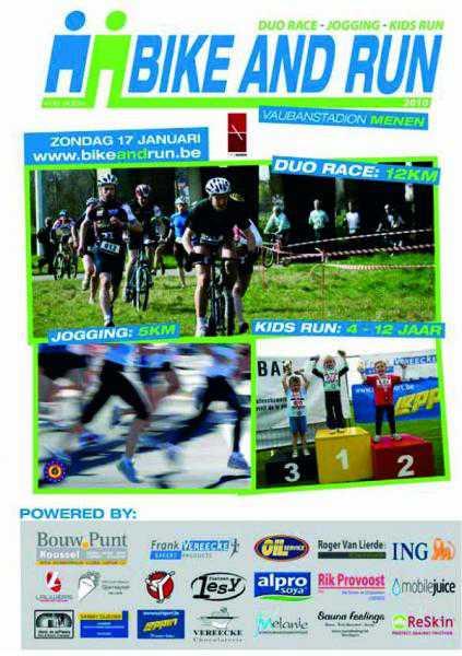 Bike and Run in Menen