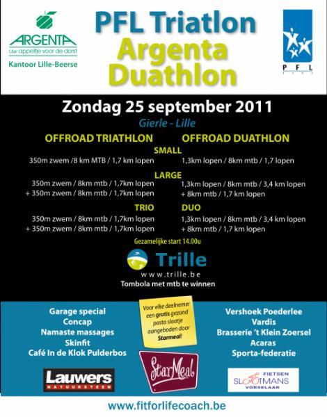 Triatlon – Duatlon Lille (25/09/2011)
