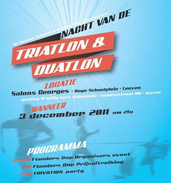Nacht van de triathlon en duathlon