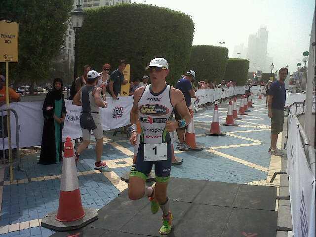 Frederik Van Lierde 18 minuten sneller in Abu Dhabi