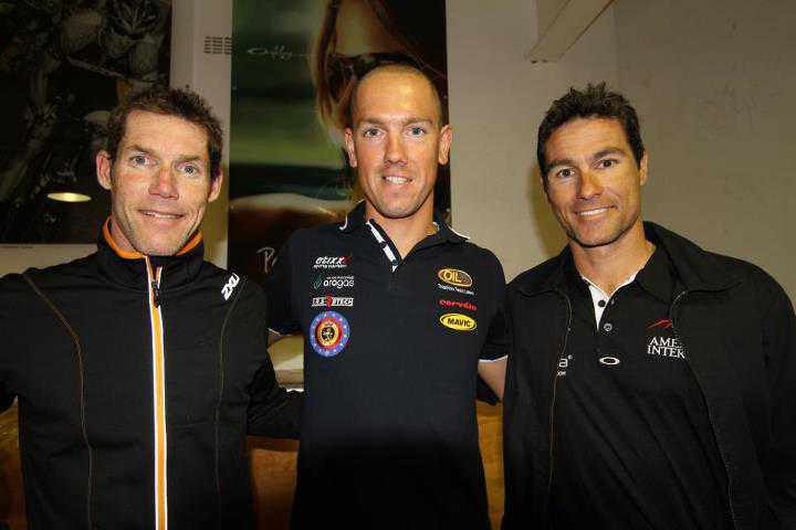 Frederik Van Lierde derde in Ironman Melbourne