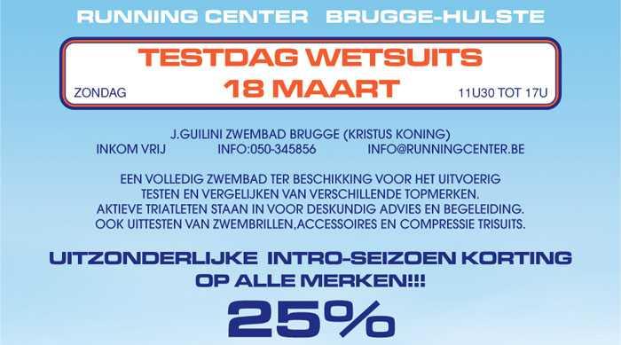 Wetsuit pasdag Brugge (18/03/2012)