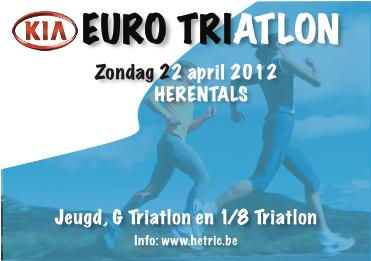 2de Herentalse Euro Triatlon op 22 april