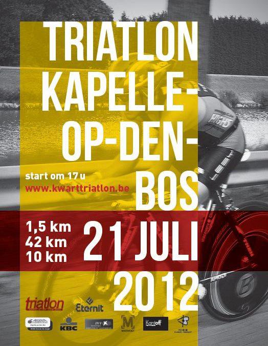 Inschrijving triathlon Kapelle-op-den-Bos geopend