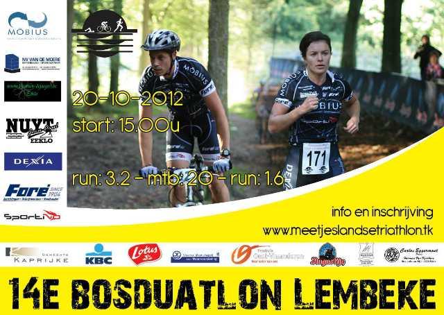 14e Bosduatlon Lembeke.