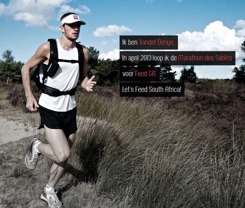 Marathon Des Sables voor het goede doel