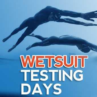 Wetsuit Testing Days in België en Nederland