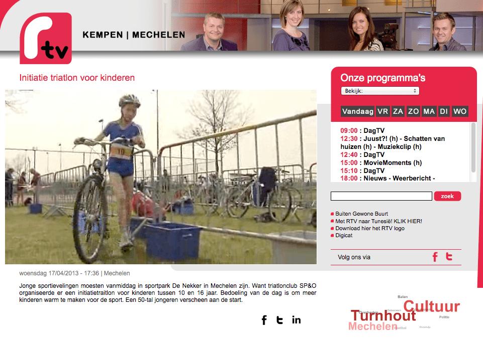 Verslag Vlaams Kampioenschap Scholentriatlon
