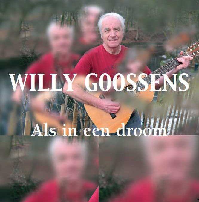 Willy Goossens brengt CD uit.