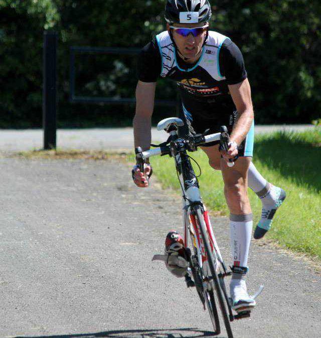 Pieter Helin is beste tijdrijder in La Roche, Stefanie Adam verplettert concurrentie