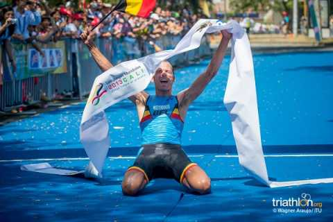 Rob Woestenborghs pakt goud en wereldtitel op Wereldspelen