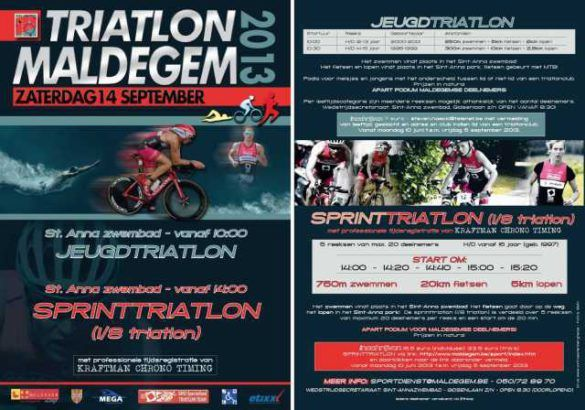 Triatlon Maldegem 2013