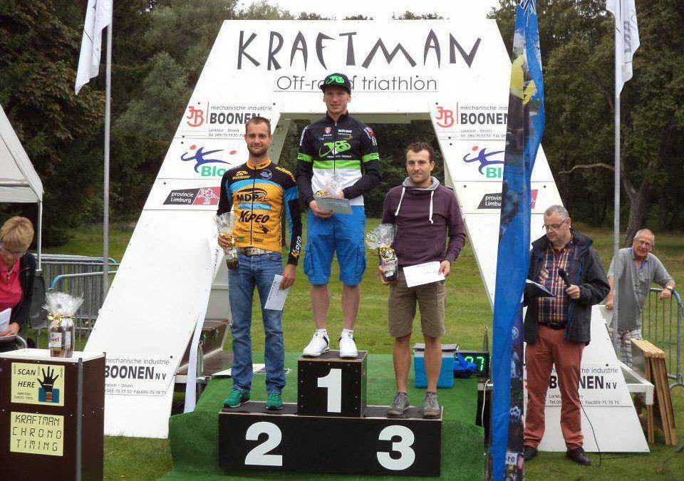 Geert Lauryssen snelste daler in Rotem