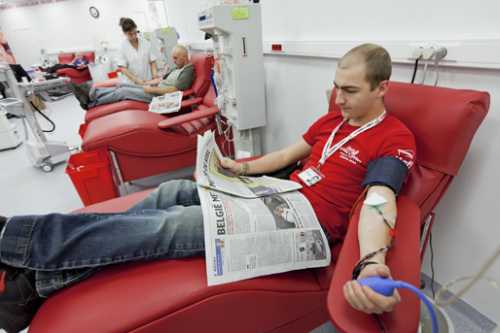 Bloedgeven: prestatieverminderend?
