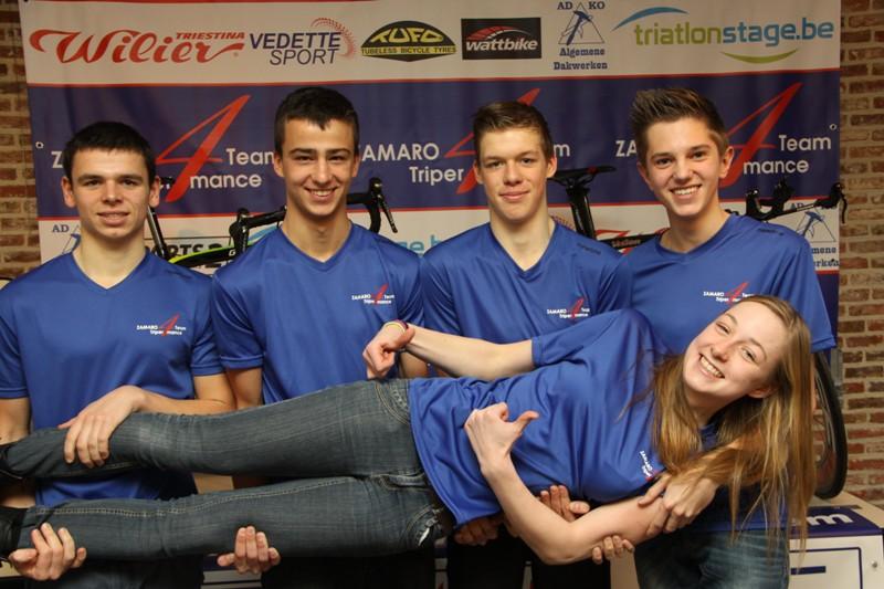 Zamaro Triper4mance Team gaat volledig voor jeugd