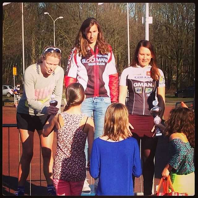 Volledig Belgisch podium op korte zwemloop