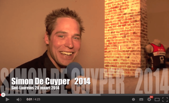 CenCe.TV Simon De Cuyper 2014 YouTube