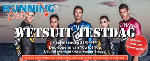 Wetsuit testdag Brugge