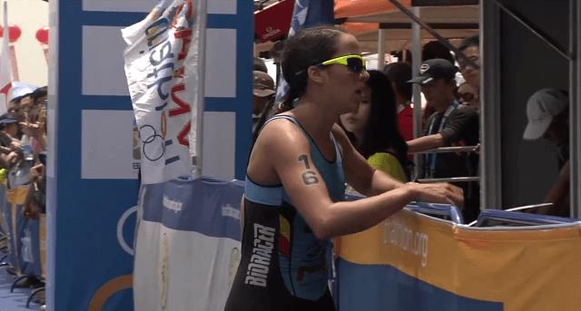 Claire Michel pakt wereldbeker-brons