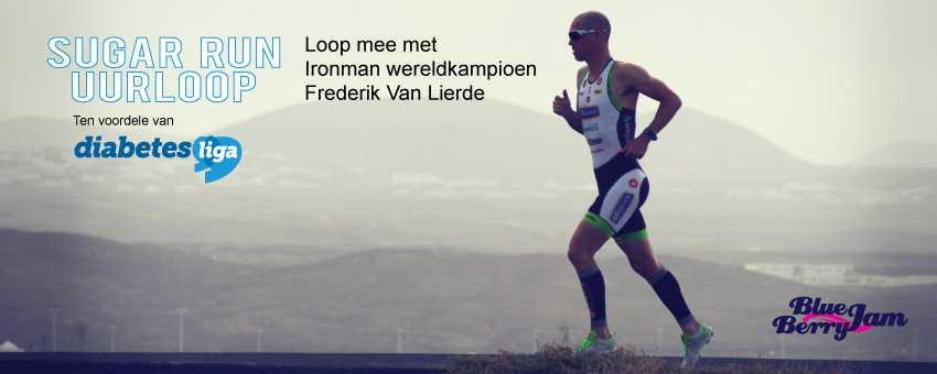 Loop met Frederik Van Lierde voor de diabetes liga