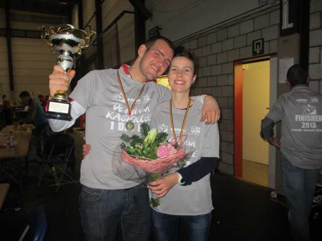 Bart Borghs en Lore Van De Perre