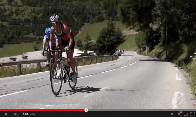 Xenia Luxem 4de op Alpe d'Huez