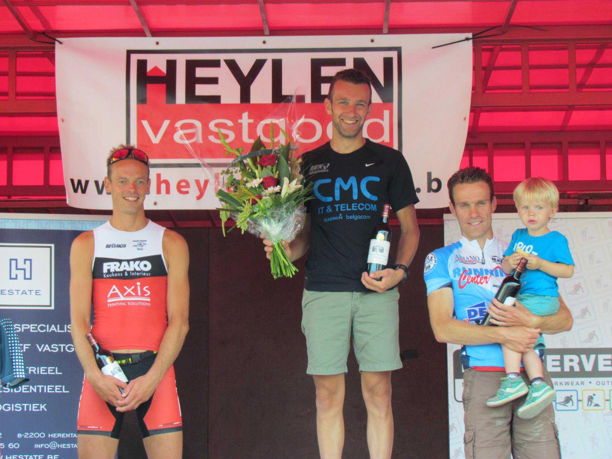 Rik Thijs wint feestelijke Herentals Duatlont