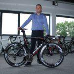 Joachim Aerts is trots op de Ridley Dean Fast