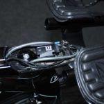 Het Ridley Dean FAST frame met Campagonlo elektrisch schakelen in het achterhoofd