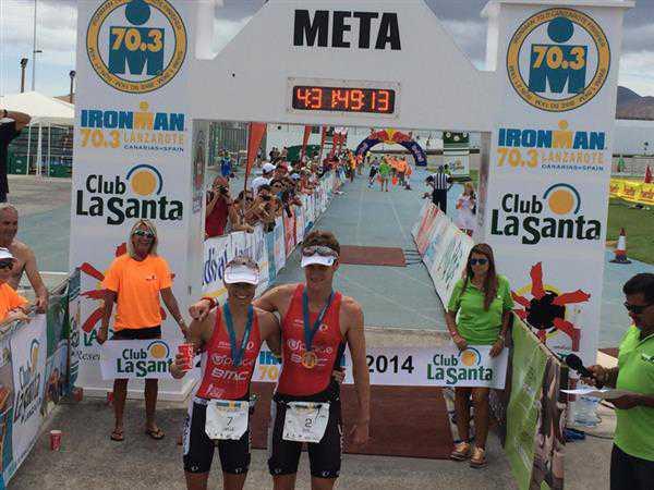 Pieter Heemeryck grijpt net naast podium in Lanzarote