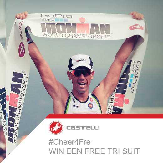 Cheer4Fre IM Hawaii: David Depuydt wint de Castelli Trisuit
