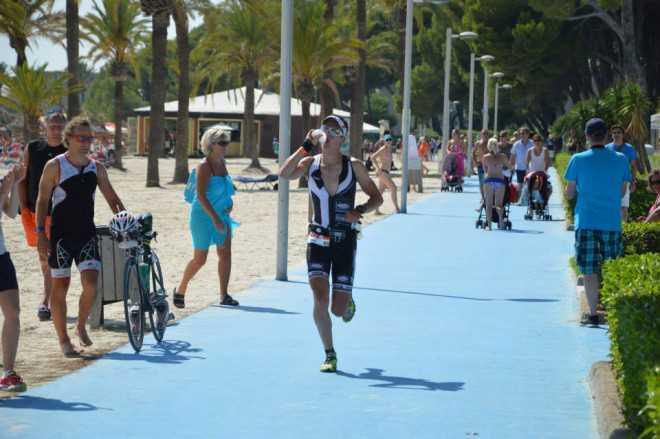 Timothy Van Houtem 7de in Mallorca