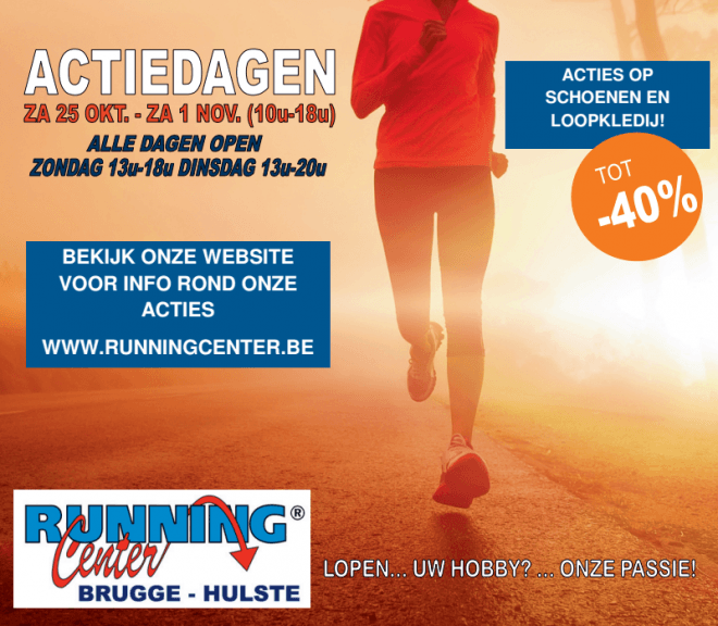 Running Center actiedagen2