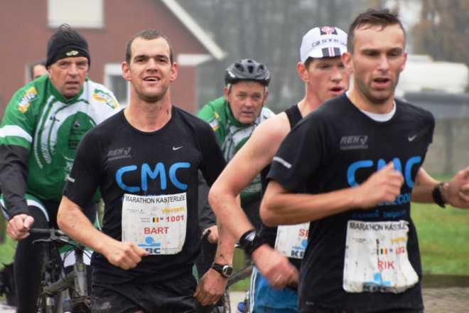 Bart Borghs marathon KAsterlee
